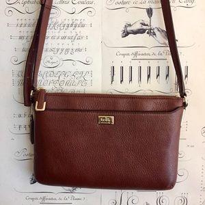 Coach Madison Leather Swingpack crossbody purse